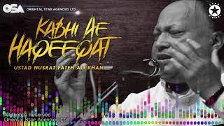 Kabhi Ae Haqeeqat Nusrat Fateh Ali Khan Complete Full Version Osa Worldwide