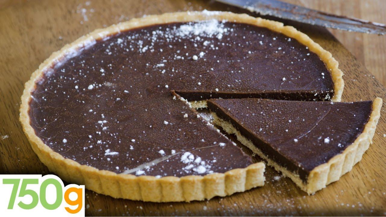 recette de tarte au chocolat inratable 750 grammes youtube. Black Bedroom Furniture Sets. Home Design Ideas