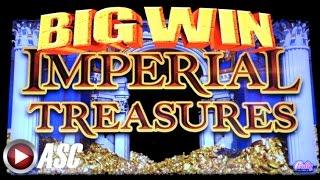 IMPERIAL TREASURES | BALLY Slot Machine Bonus Win