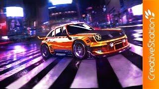Underground - Speed Painting (#Photoshop)   CreativeStation