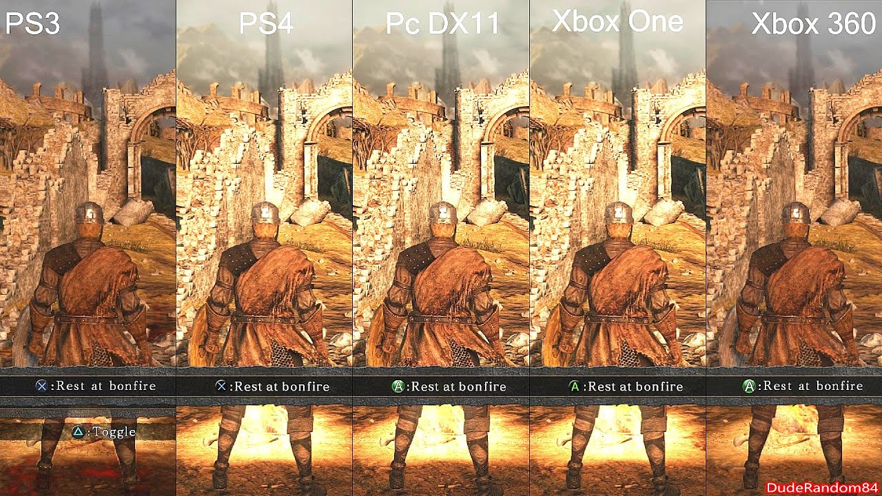 Souls Ps3 Dark Souls 2 Ps4 vs Ps3 vs pc