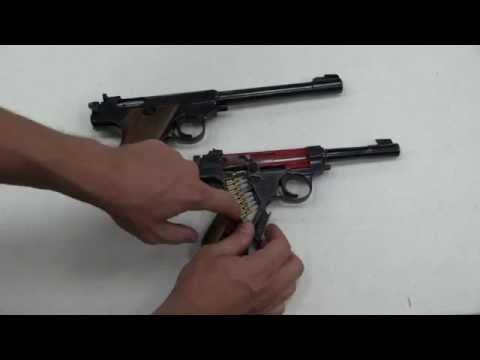 Prototype Dieckmann P66 Pistol and Cutaway at RIA