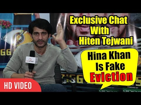 Exclusive Interview With Hiten Tejwani | Hina Khan Is Fake | Shocking Eviction 17th Dec Bigg Boss 11