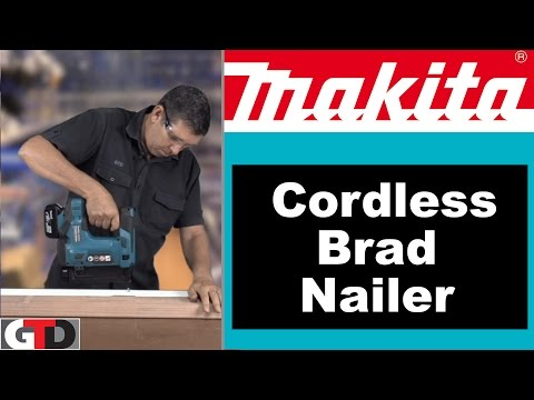 Makita 18 Volt Cordless Brad Nailer