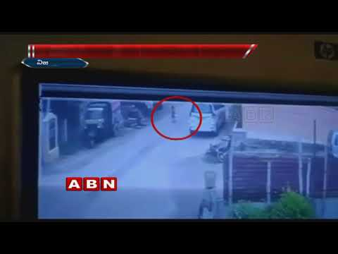 CCTV Footage | School Management shows negligence on 3-year-old preschool student in Vijayawada