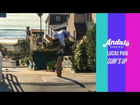 Lucas Puig: Surf's Up | Andalé Bearings