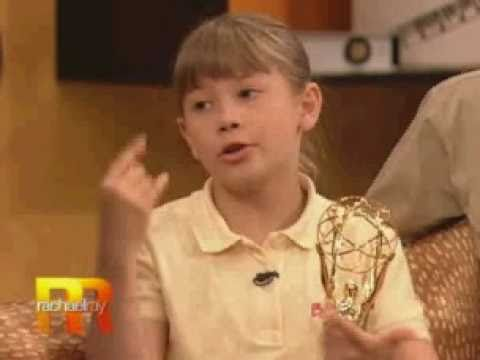 Bindi Irwin answers Your Questions on Rachael Ray (2008)
