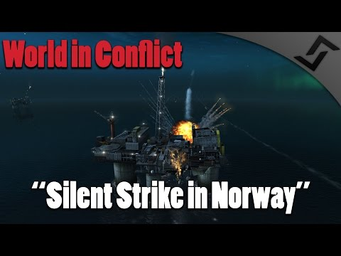 World in Conflict - Silent Strike in Norway - Mission 11 - USSR - Cold War RTS (60 fps)