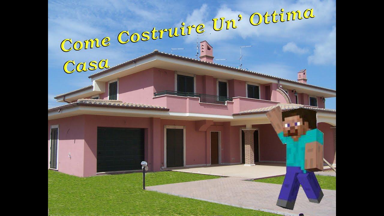 Minecraft tutorial come costruire un 39 ottima casa youtube - Come si vende una casa ...