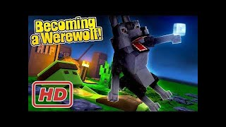 HOW TO BECOME A WEREWOLF IN MINECRAFT!