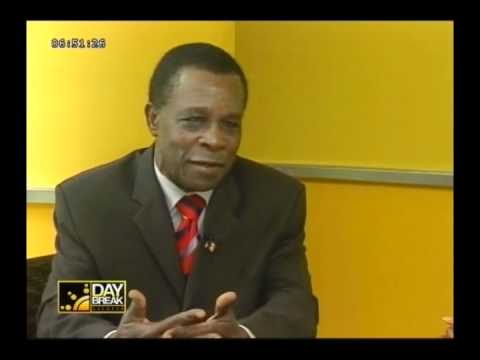 Dr. Keith Mitchell on DayBreak Grenada