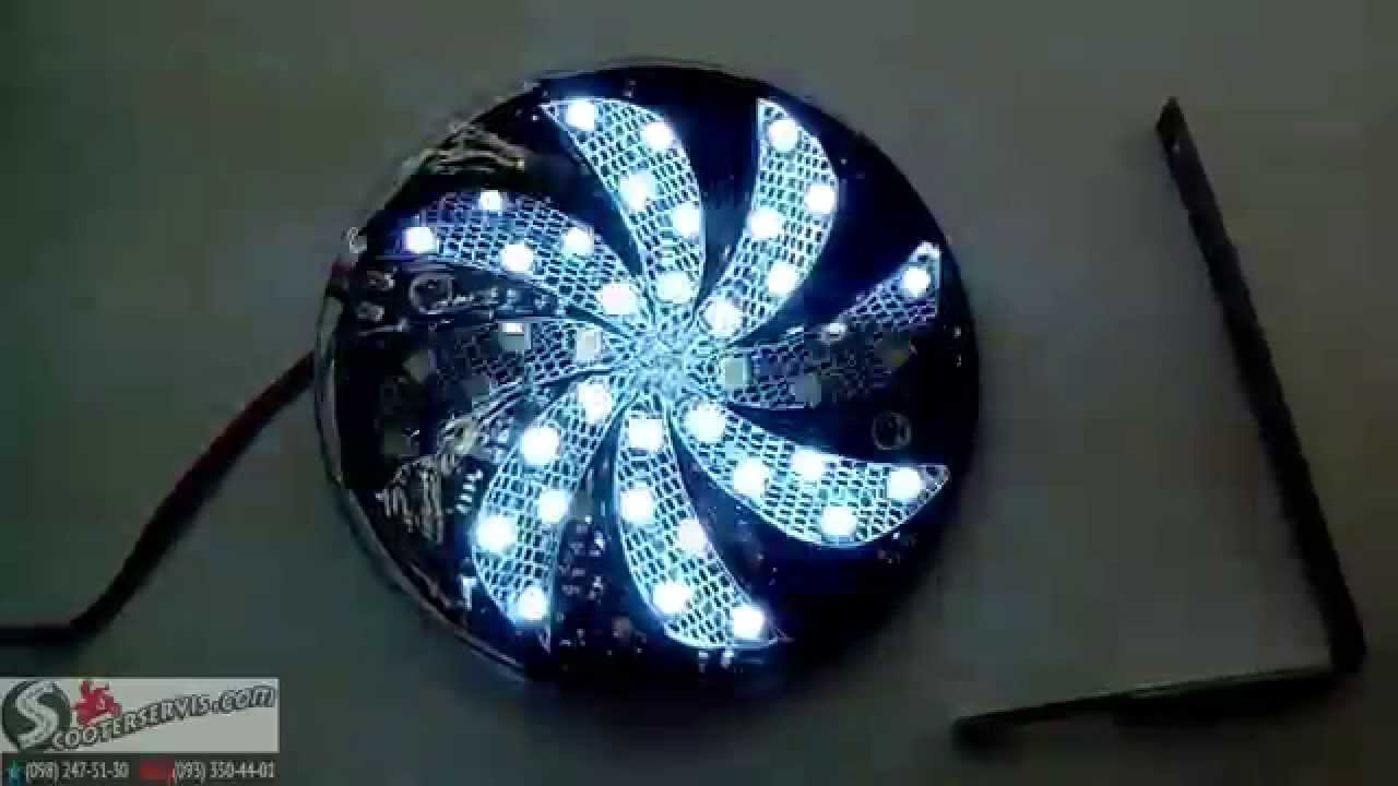 Подсветка на скутер своими руками фото 425