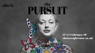 'The Pursuit' opening visual | She Is Conference 2018