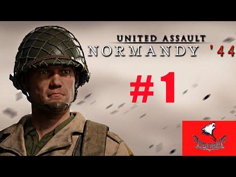 United Assault Normandy 44 Ersten Einblicke Gameplay Deutsch # 1