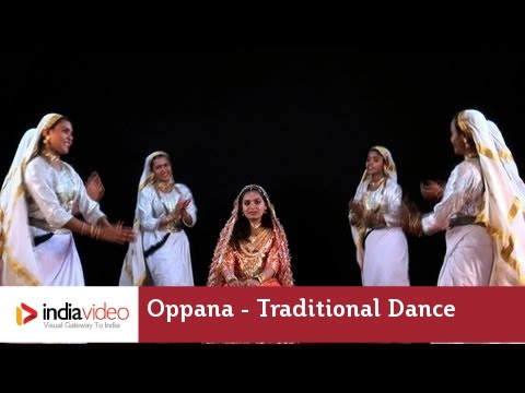 Oppana – traditional dance of Muslim community