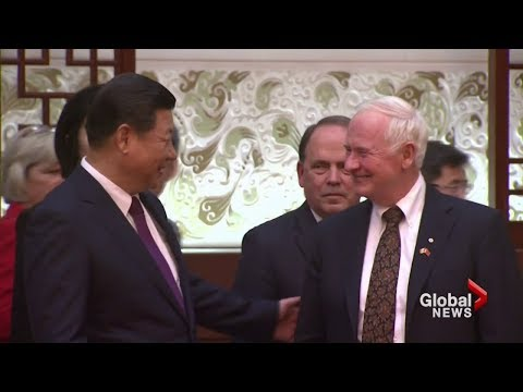 Canada Governor General engages China to open up trade
