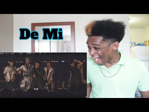 CNCO - De Mi | Vevo LIFT Live Sessions (Live) REACTION