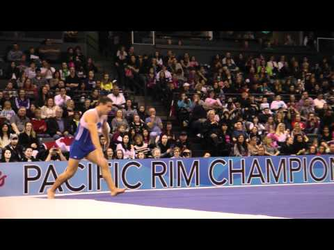 Jake Dalton - Floor Exercise Finals - 2012 Kellogg&#039;s Pacific Rim Championships - 1st