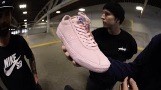 100 Kickflips In The Nike SB x NBA Bruin Low With Bobby Worrest and Trevor McCune