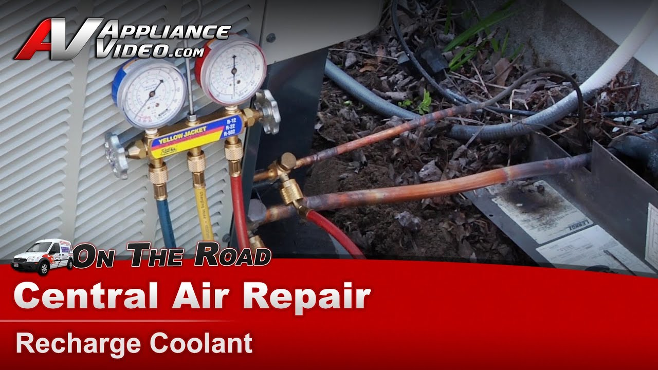 Central Air Conditioner Repair Replacement Youtube