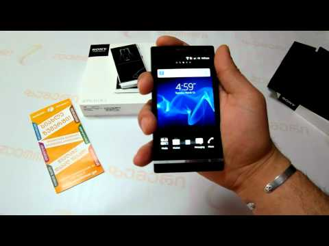 SONY LT26i Xperia S - Video review by Zoommer