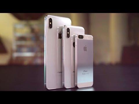Apple выпустит 3 новых iPhone в 2018! iPhone SE2 и Galaxy Note 9. Xiaomi Mi Band 3 и Redmi S2