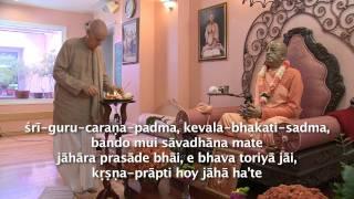 2011.10.08. Guru Puja HG Sankarshan Das Adhikari - Riga, Latvia