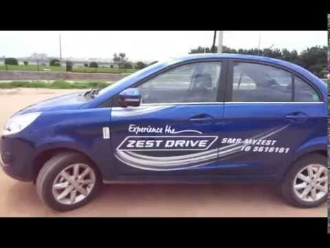 Tata Zest Petrol/Diesel Interior Exterior Walkthrough (cabin noise, mileage, price, etc.)