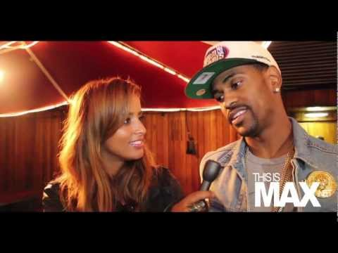 Big Sean *EXCLUSIVE* backstage in London (Thisismax.net)