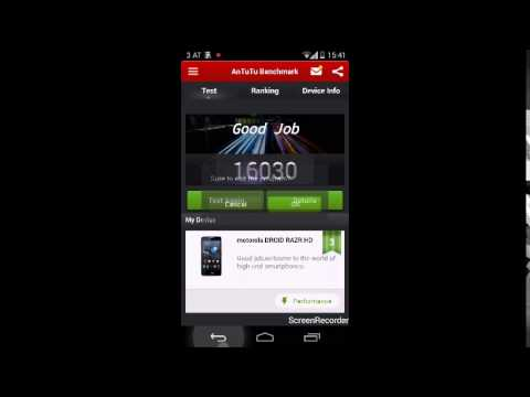 Motorola Razr HD XT925 Official Android 4.4.2 KitKat - Preview