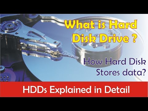 What is hard disk drive?? Explained in detail (in hindi)