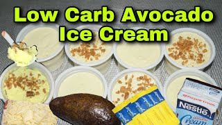 Low Carb/ Keto Avocado Ice Cream | Ron & Sien