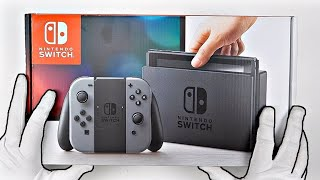 Nintendo Switch (Grey Joy-Con) Unboxing