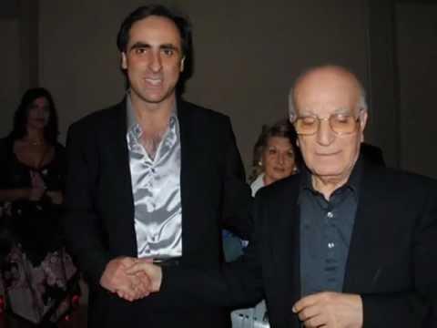 Don Santino Spartà e Antonello De Pierro alla festa anticrisi di Paolo Pazzaglia (versione 2)