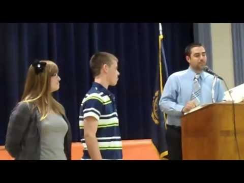 Conant High School All School Awards.  Congratulations Steven.