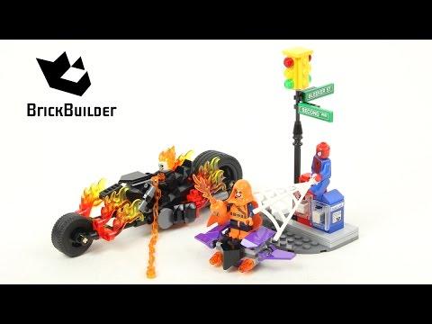 Lego Super Heroes 76058 Spider-Man: Ghost Rider Team-Up  - Lego Speed Build