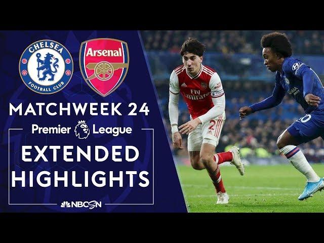 Chelsea v. Arsenal | PREMIER LEAGUE HIGHLIGHTS | 1/21/2020 | NBC Sports thumbnail