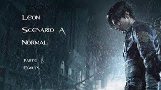 Resident Evil 2 - Leon - Scénario A - Normal - Partie 5