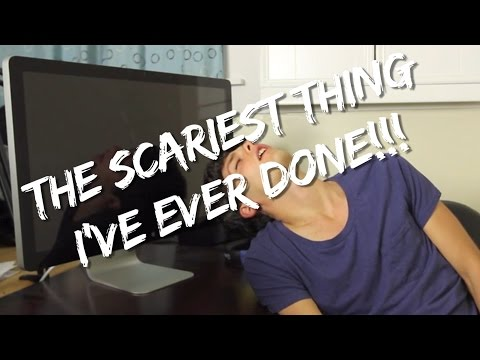 The Scariest Thing I've Ever Done | Jordan's Messyges