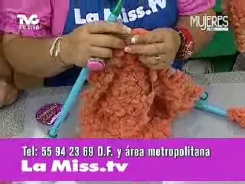 Cómo tejer un Poncho (METVC)