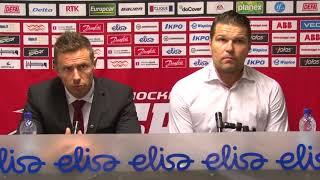 Sport - Ässät 22.9.2017 Lehdistötilaisuus