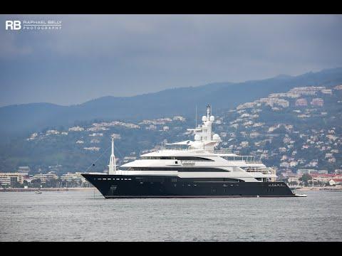 superyacht Amevi owned by Lakshmi Mittal.wmv