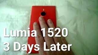 Nokia Lumia 1520 what we think after 3 days of use