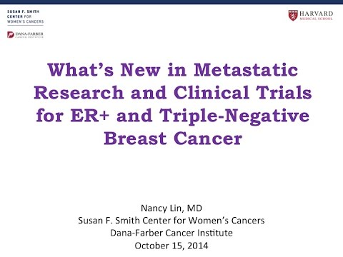 Triple negative breast cancer studies similar situation