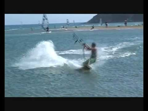 Kite surf arthur prasonisi 2012