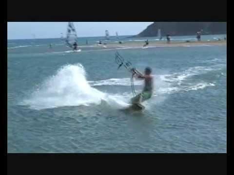 Kite surf arthur prasonisi 2012