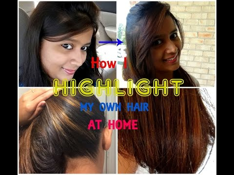 How to highlight your own hairs at home with Garnier Nutrisse   SensationalSupriya