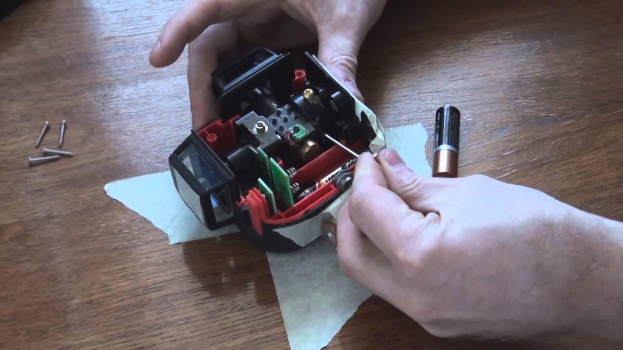 Как отремонтировать лазерный уровень своими руками 78