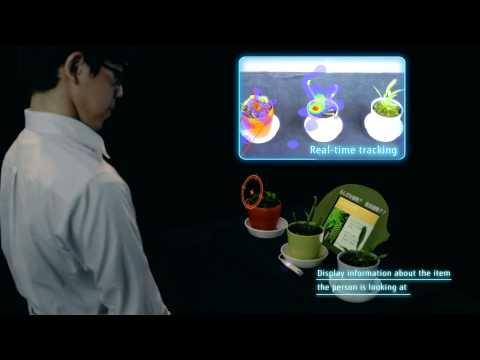 Compact Gaze Tracking Technology Demo [FUJITSU JOURNAL]