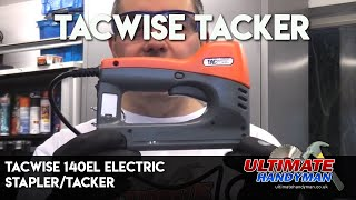 Tacwise 140el review